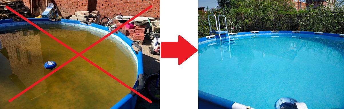 Пергидроль для чистоты Вашего бассейна!